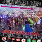 AVISO 70/2021 METROMADRID – BICIFESTACIÓN 16 SEPTIEMBRE 2021